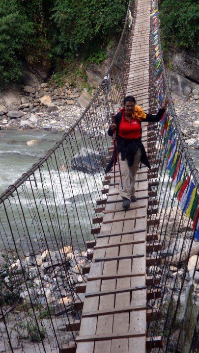 Annapurna Base Camp ABC trek in 2012