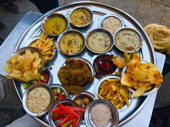 Typical Egyptian Breakfast by Nesreen El-Molla