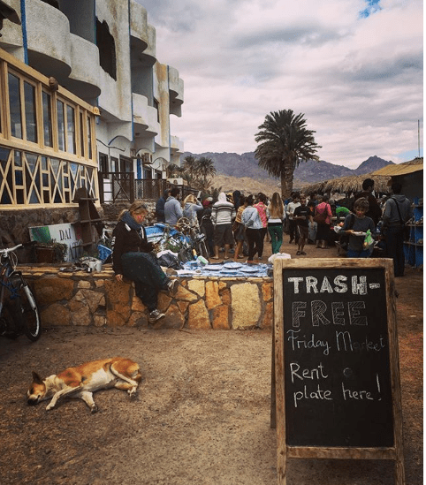 The Friday Market in Dahab by Passainte Assem