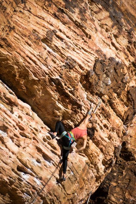 Rock Climbing by Robert Baker via Unsplash
