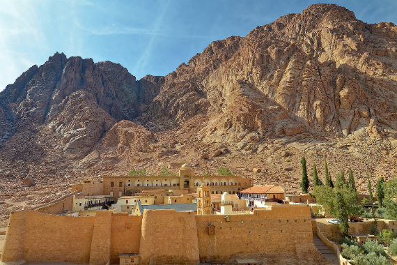 Monastery of St. Catherine in Katerina, South Sinai via pixabay
