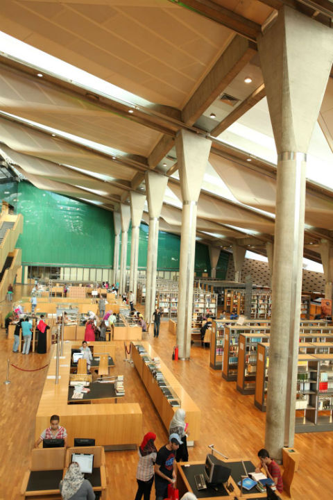 bibliotheca alexandrina from the library's official website
