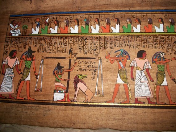 How Judgment Day looks like in Ancient Egypt via pixabay