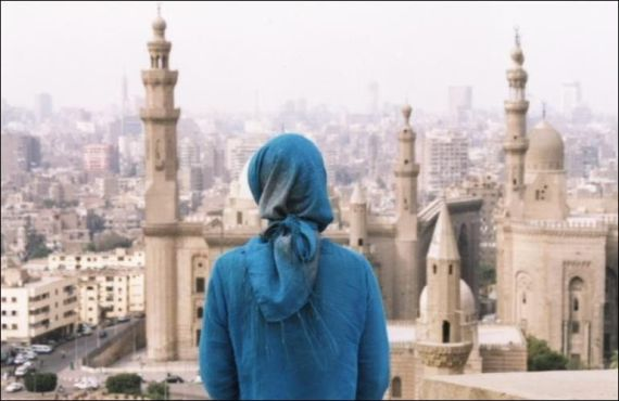 Wendy viewing Cairo from the Citadel