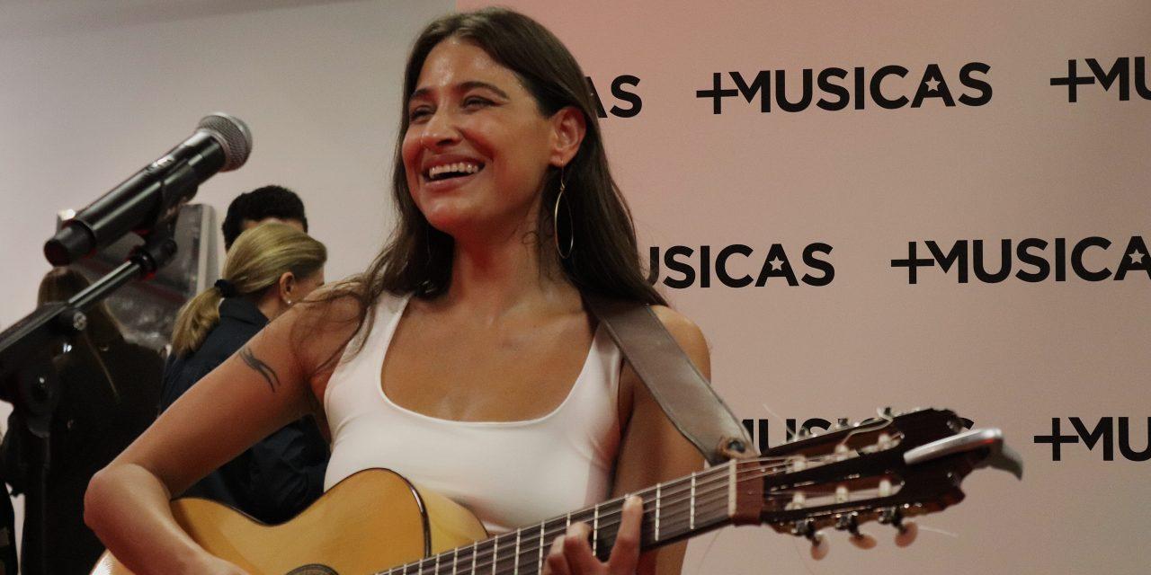 Georgina, protagonista de una tarde especial de la mano de Más Músicas