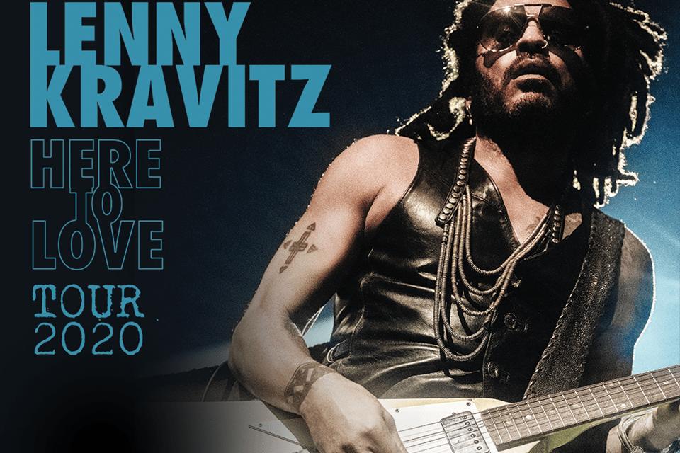 Lenny Kravitz y su gira mundial 'Here To Love' harán parada en España