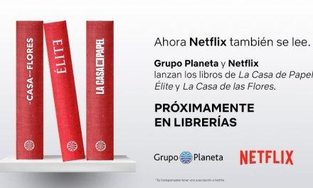 Netflix llega a la literatura: ¡tu serie favorita tiene un libro!