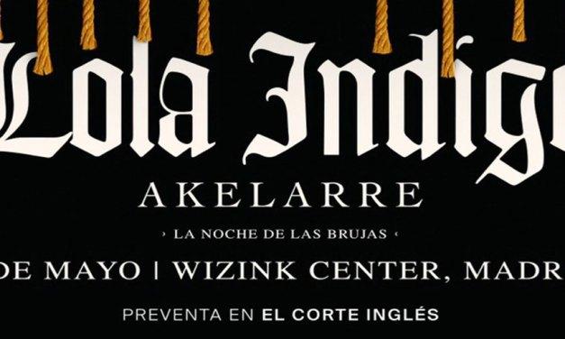 Lola Indigo presenta «La Noche de las Brujas»