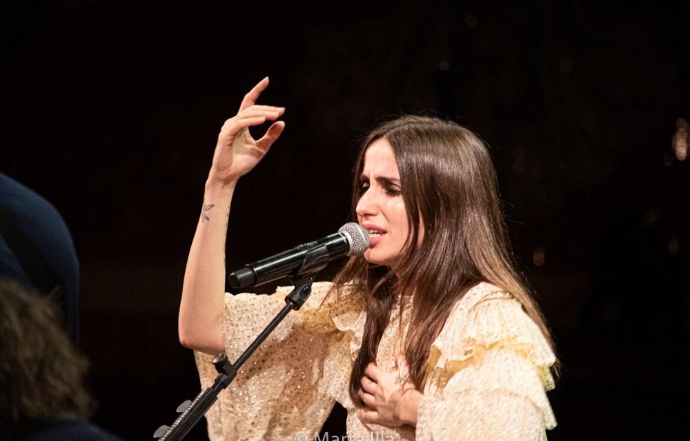 Zahara hace magia en el Palau de la Música Catalana