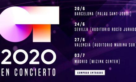 OT 2020: Estas son las fechas para los cuatro únicos conciertos confirmados de la gira
