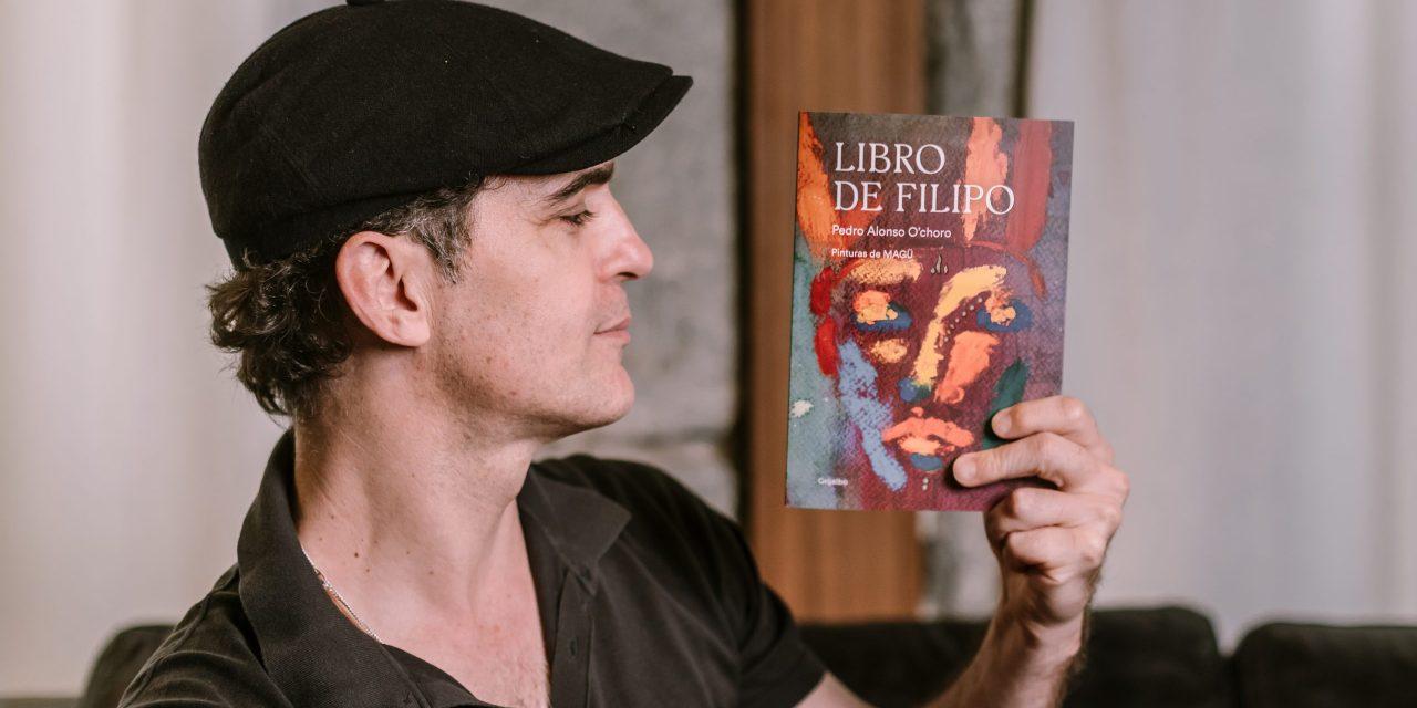 """""""Libro de Filipo"""", el inicio literario más personal de Pedro Alonso"""