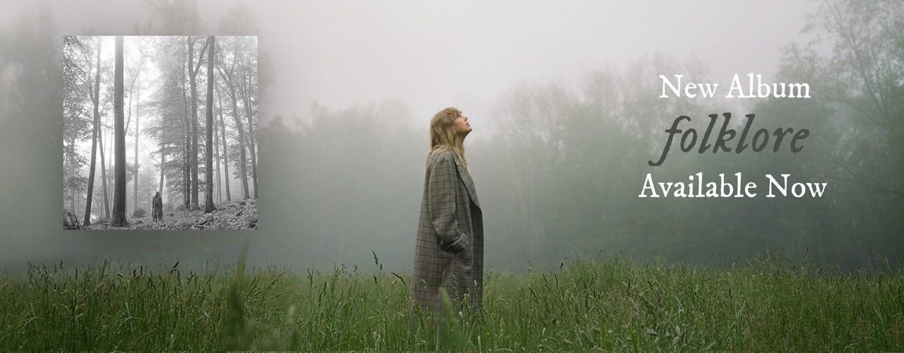 """Descubre la """"folklore"""" sorpresa de Taylor Swift"""