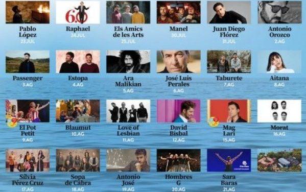 Vuelve el Festival Cap Roig: la música en directo pisa de nuevo Girona