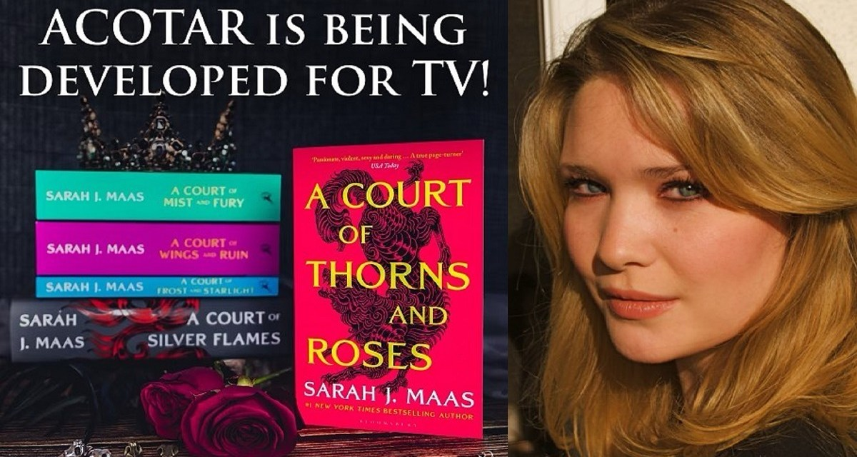 La saga 'Una corte de rosas y espinas' será una serie de televisión