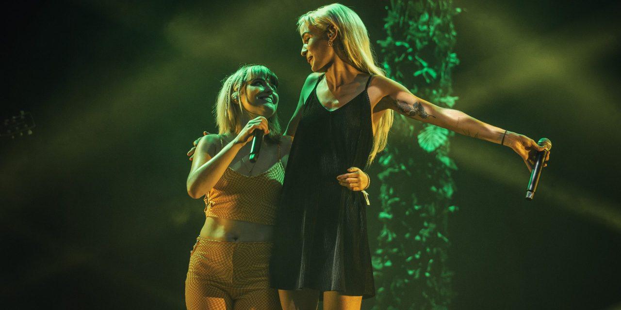 Alba Reche y Natalia Lacunza iluminan el Estadi Olímpic