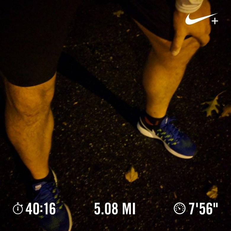 A tough run