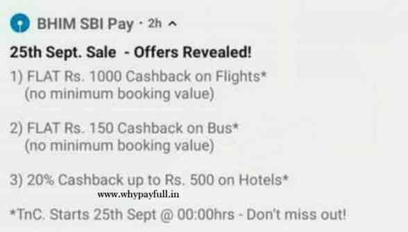 sbi pay offer