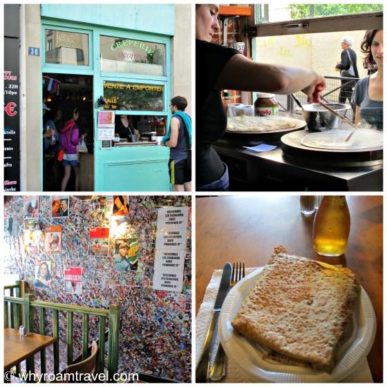 Favorite Creperies in Paris | whyroamtravel.com