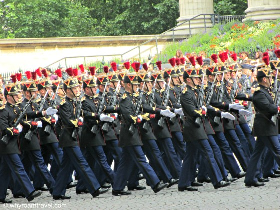 Bastille Day  Parade in Paris | WhyRoamTravel.com