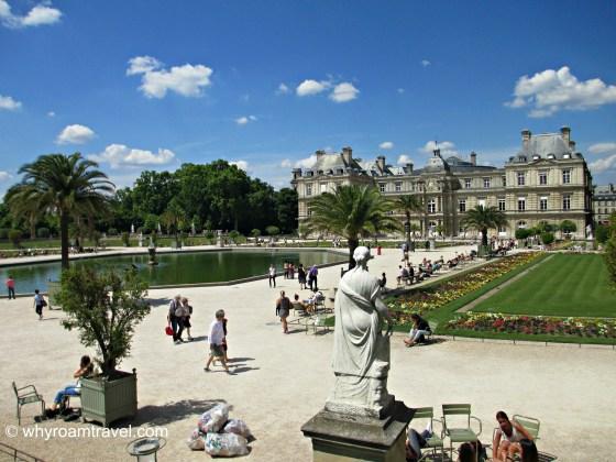 Jardin du Luxembourg | WhyRoamTravel.com