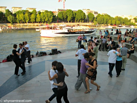 Dancing Along the Seine in Paris | WhyRoamTravel.com