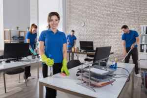 What are the 4 most common office cleaning problems