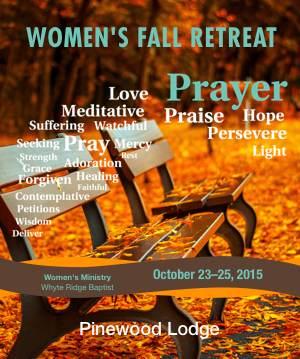 2015 Women's Fall Retreat