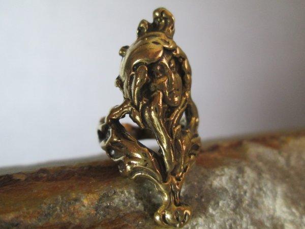 Gibson Girl Bronze Ring