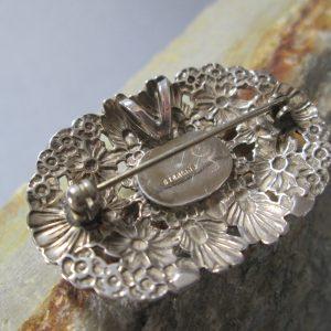Victorian Style Posy Brooch