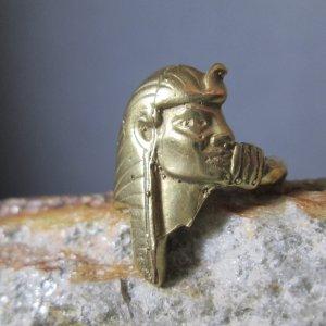 Bronze Pharoh Ring