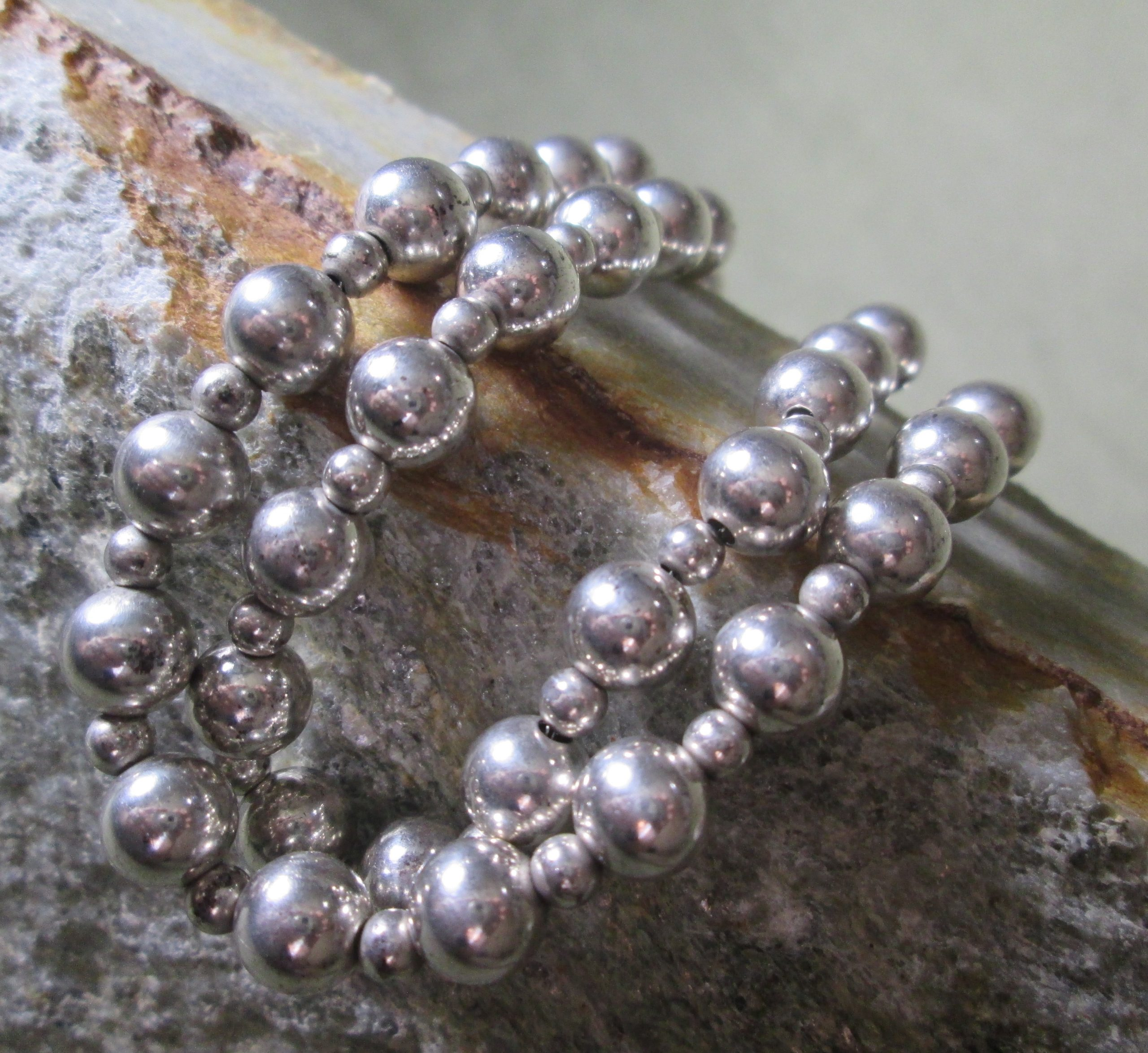 Artisan Silver Pearl Necklace
