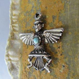 silver thunderbird dancer charm