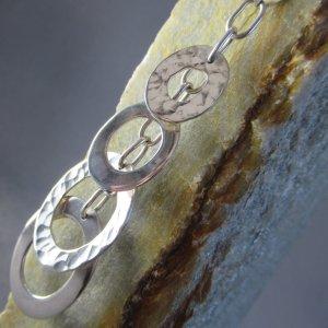 sterling silver cascade pendant