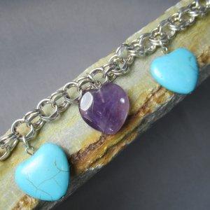 Heart of Stone Charm Bracelet