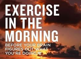 Exercise In The Morning Picture