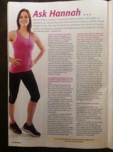 'Ask Hannah' Column Irish Runner Mag