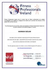 Hannah Nolan FPI & EREPS Registered