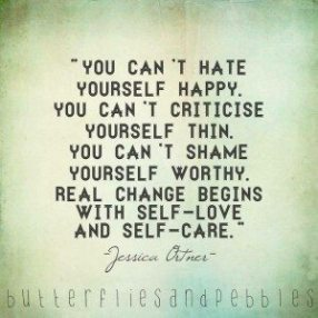 You Cant Hate Yourself Happy