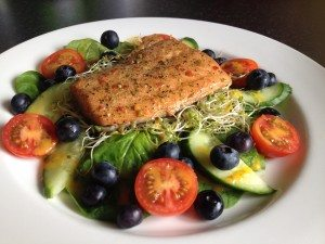 Ginger Chilli Lime Salmon