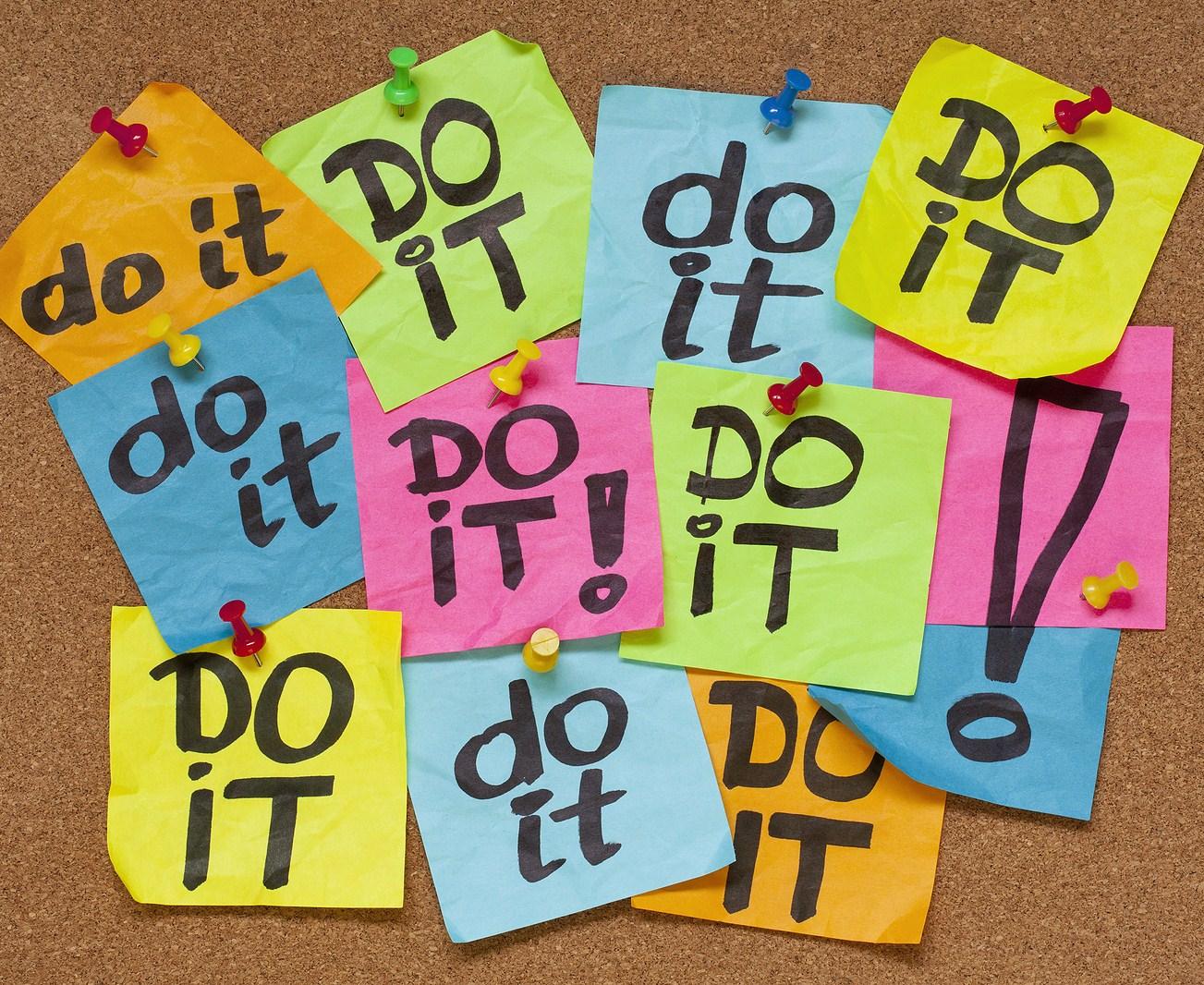 say no to procrastination