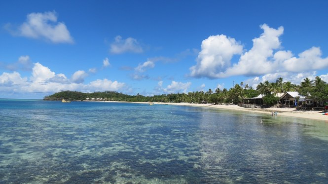 Spotting Mamanuca Islands / Mana Island