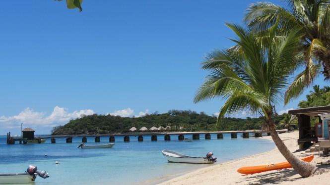Kayaking in Fiji Islands