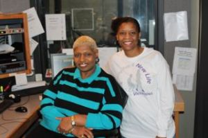 Bev Johnson and Joyce Kyles