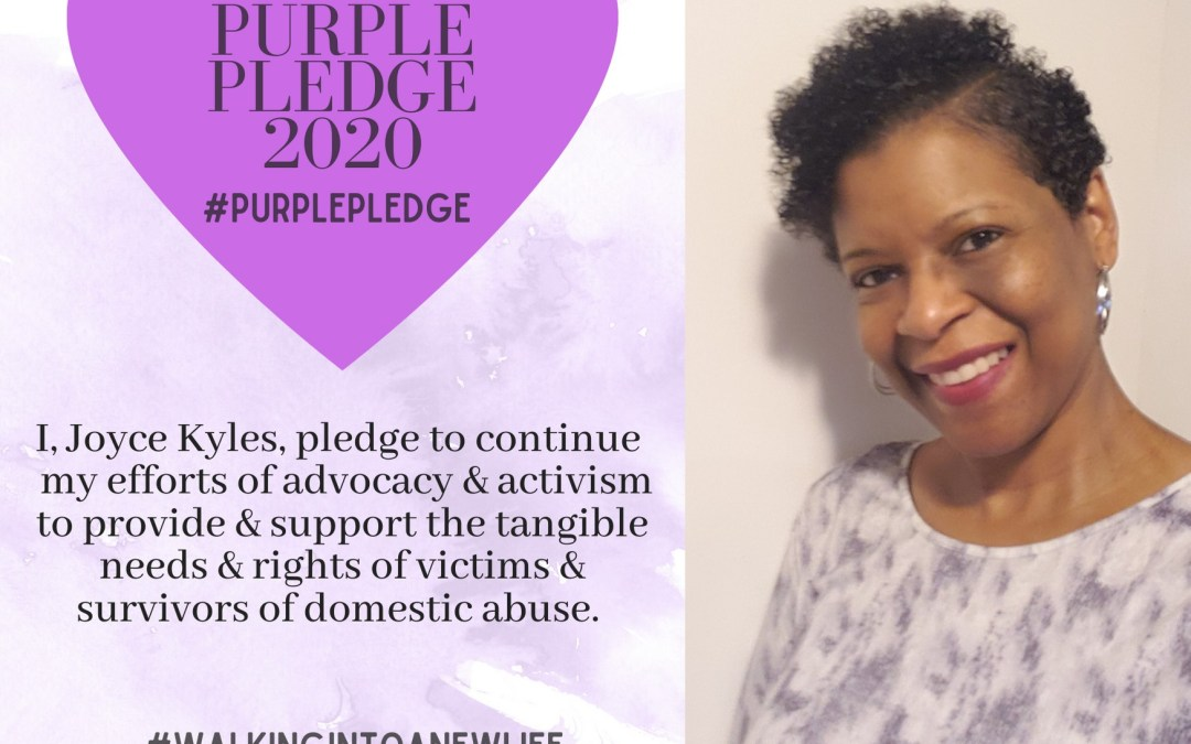 Purple Pledge: Joyce Kyles