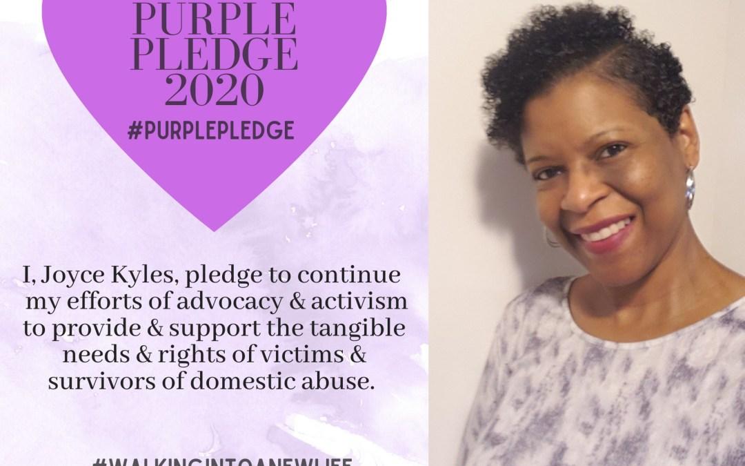 Purple Pledge: Joyce Kyles