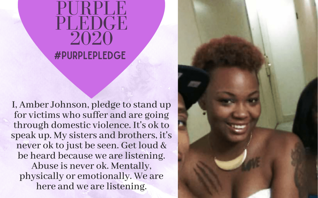 Purple Pledge: Amber Johnson
