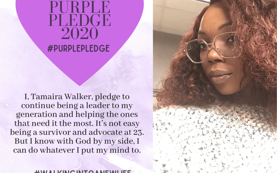 Purple Pledge: Tamaira Walker