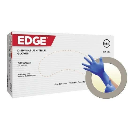 Edge Disposable Nitril Gloves (Blue | Powder Free)