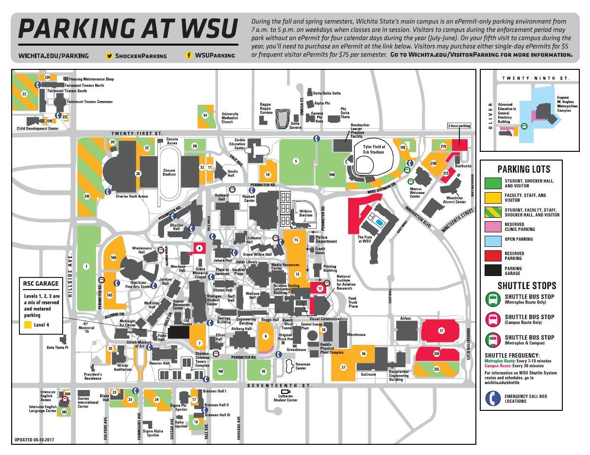 Kansas State Campus Map