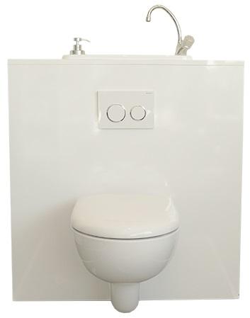 wc suspendu geberit compact avec lave